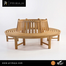 OUTDOOUR FURNITURE TEAK ROUND TREE BENCH