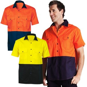 Safety Workwear Hi Vis Polo Shirt