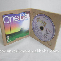 Custom High Quality Wooden Cd Box/wooden Dvd Case