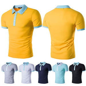 men work polo shirts new design fashion polo shirt