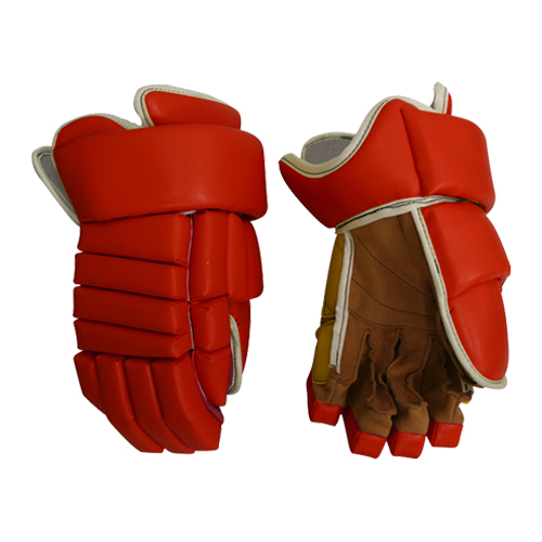 Outdoor Sport Goods Red Ice Hockey Glove