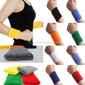 Hot Selling Promotional Cotton Sports Basketball Wristband Professional Wrist Band Sweat band gymnastic