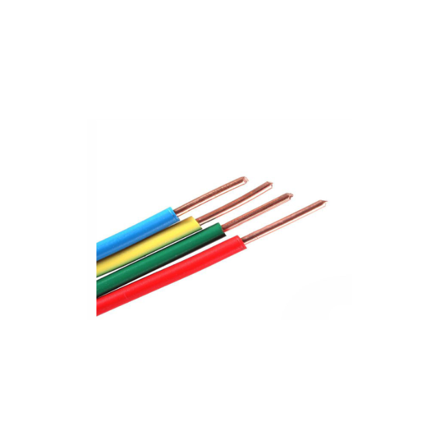 1mm---240mm pvc coated insulated stranded single core quality wire and cable