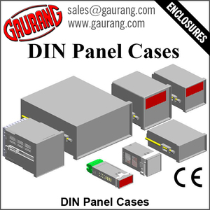 DIN Panel Cases for Panel Flush Mounting