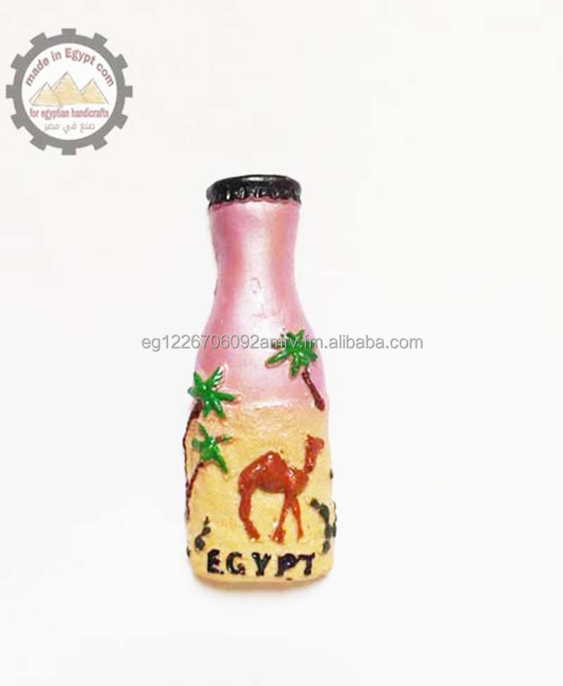 Egypt tourist 3d Fridge Magnets - Hand Painted - M0046