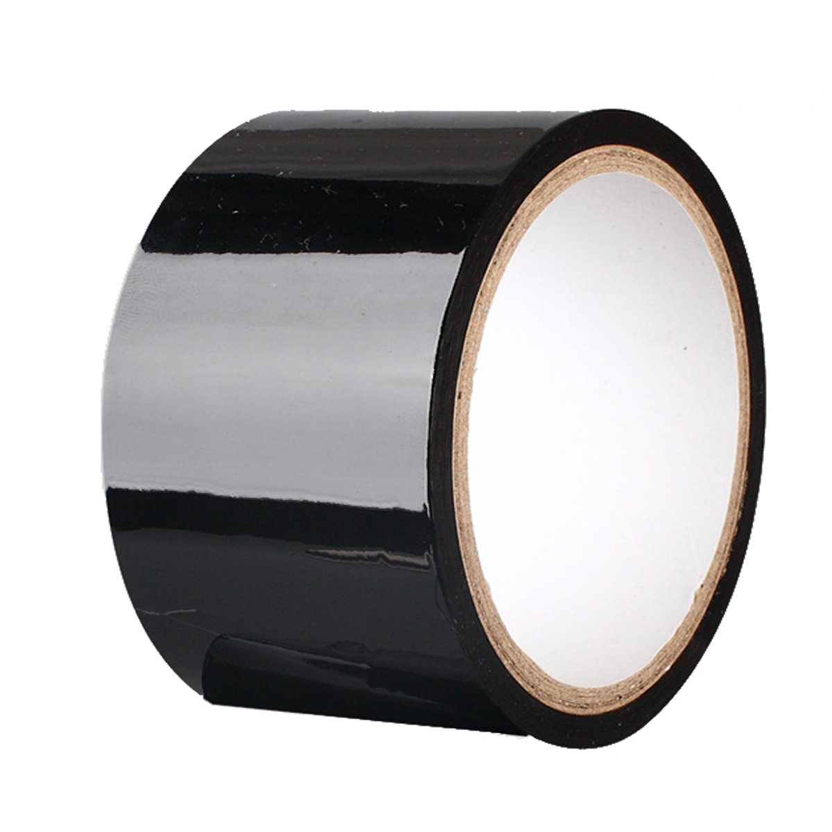 Black Pleasure Tape Static Tape,No Glue Electrostatic Adsorption Tapes No Hair Pulling Or Sticky Residue RED