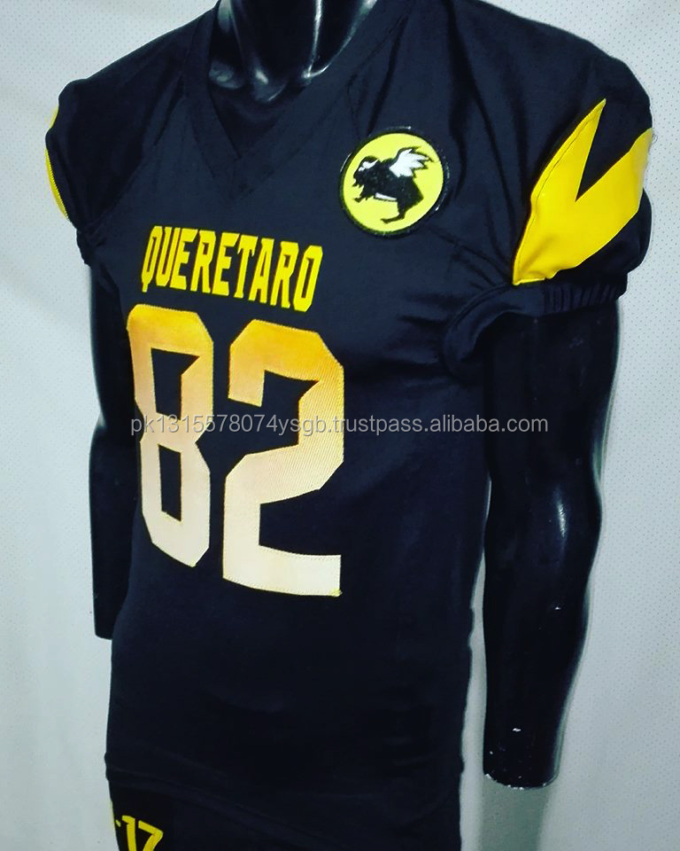 Customized name sublimation American football jersey