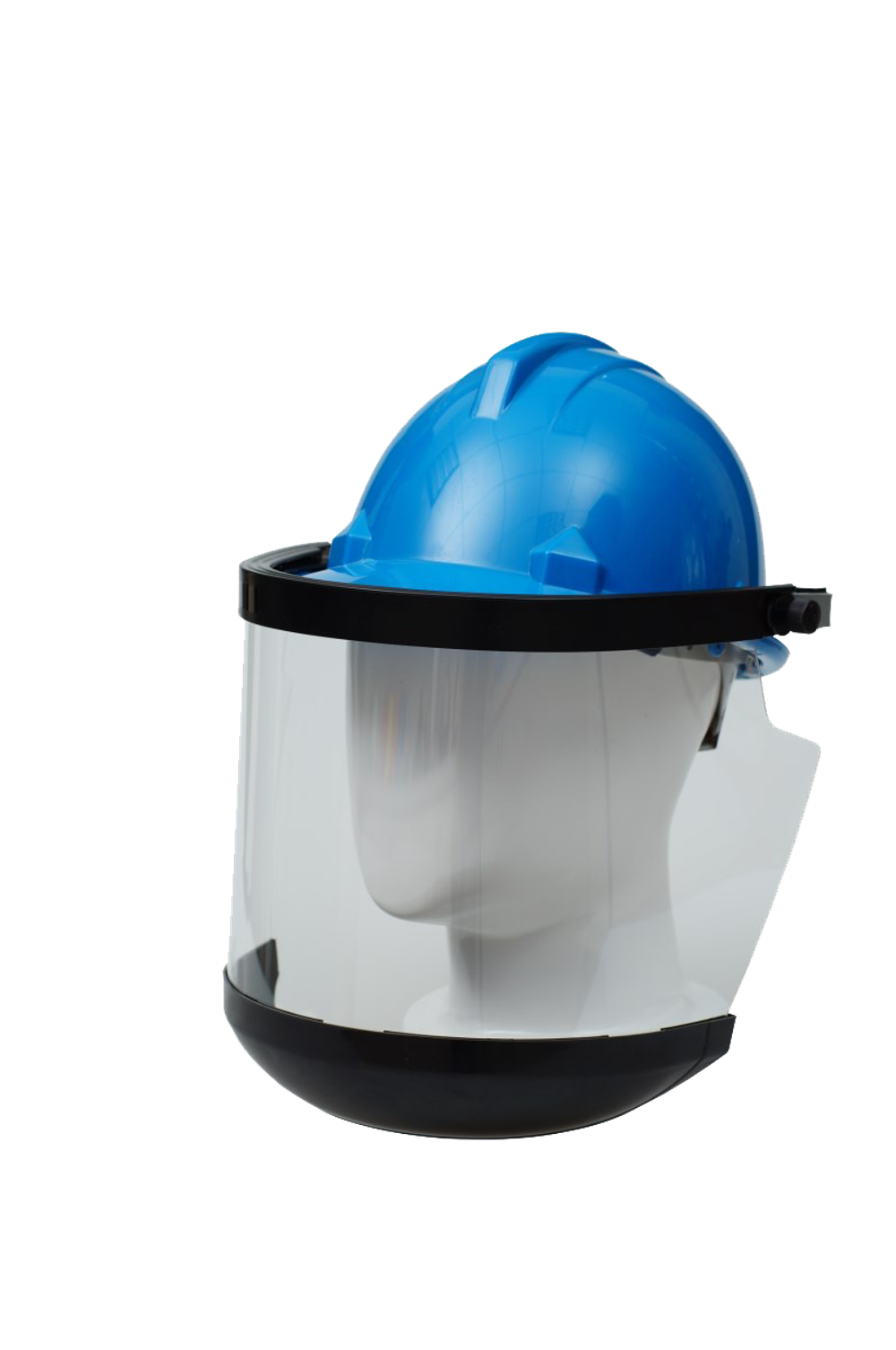 Solar Powered Heat Protection Face Shield Blue Eagle Auto Welding Helmet