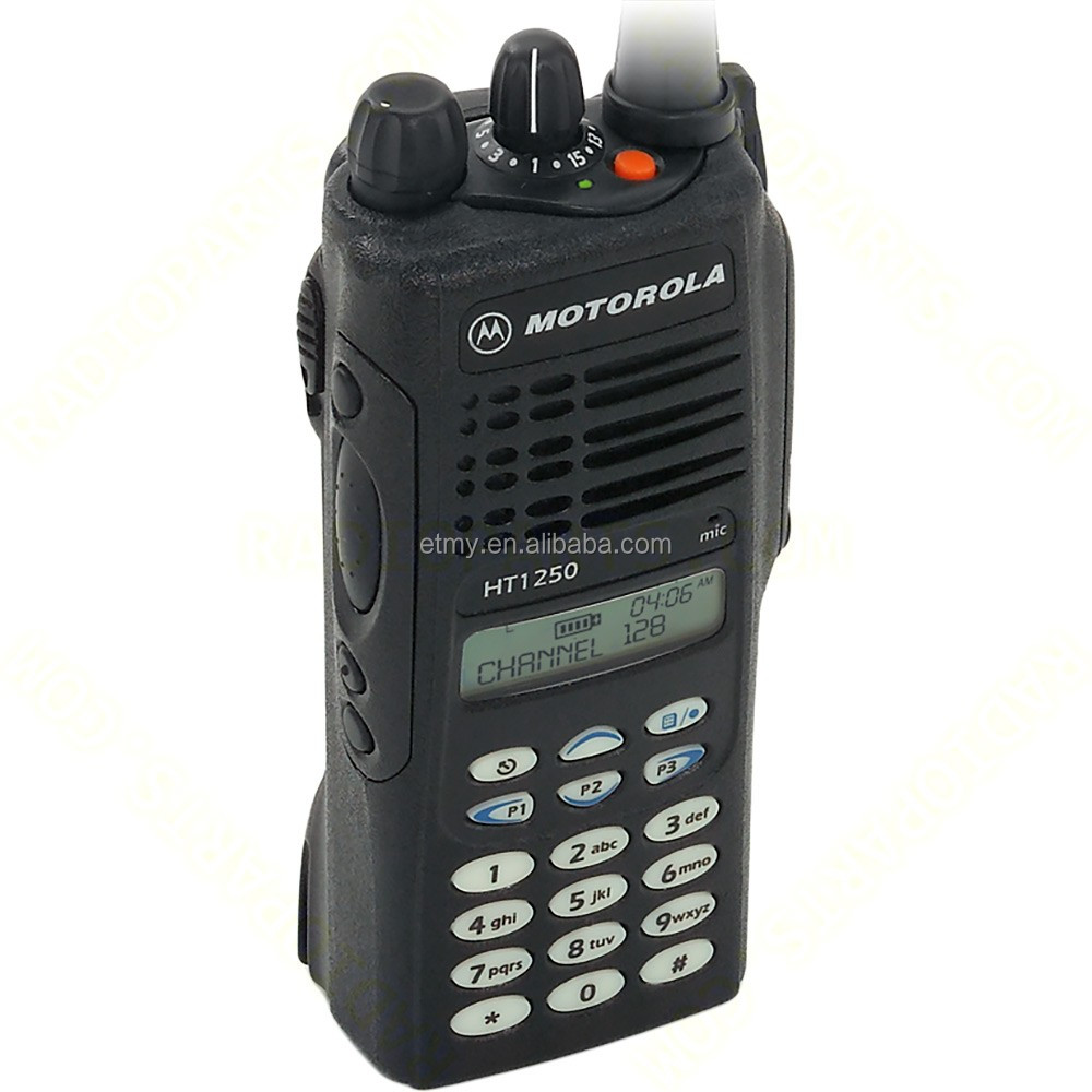 100 mile walkie talkie Motorola HT1250 with Private Line and MDC