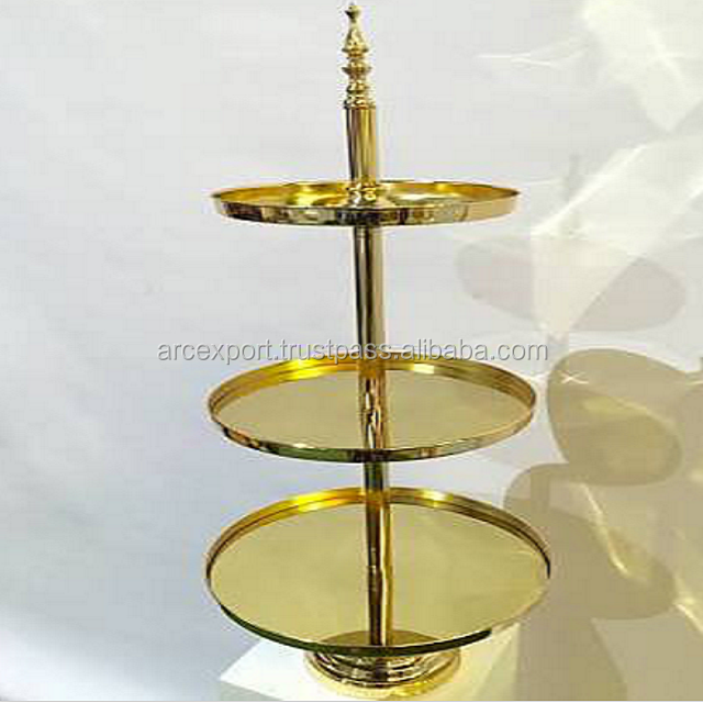 Gold Plated Cake Stand Wholesale, Stand Suppliers - Alibaba
