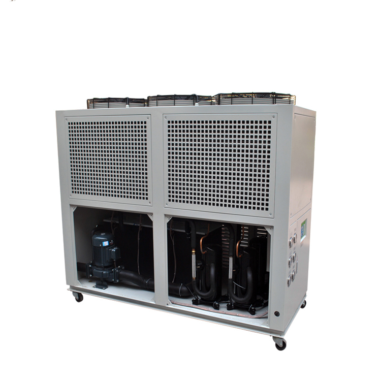 Reasonable structure Industrial screw compressor freon chiller