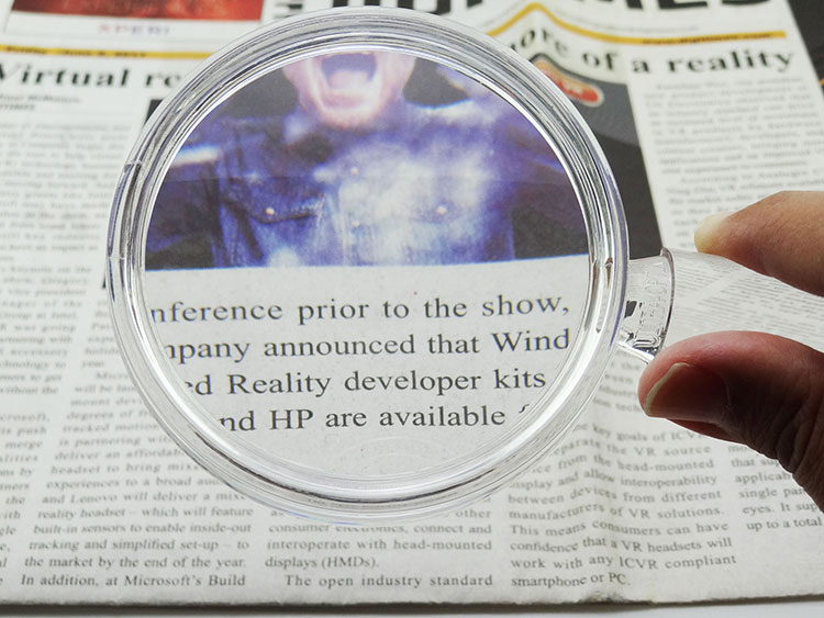 2in1Handheld Magnifier With Magnifying Bar Handle