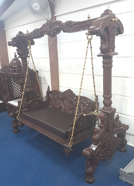 Traditional Swing For Living Room: Traditional Indian Swing Set Jhula For Australia Home