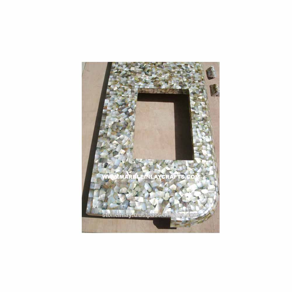 Sea Shell Mother Of Pearl Mirror Frame