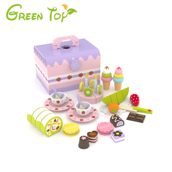 Green Toy Wooden Toy Chocolate Cake Setkids Wooden Kitchen Toyfood Toy Buy Wooden Toy Cake Setfood Toywooden Kitchen Toy Product On Alibabacom