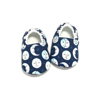 Custom New design wholesale Organic Cotton Shoe Baby Boties Toddler Shoes