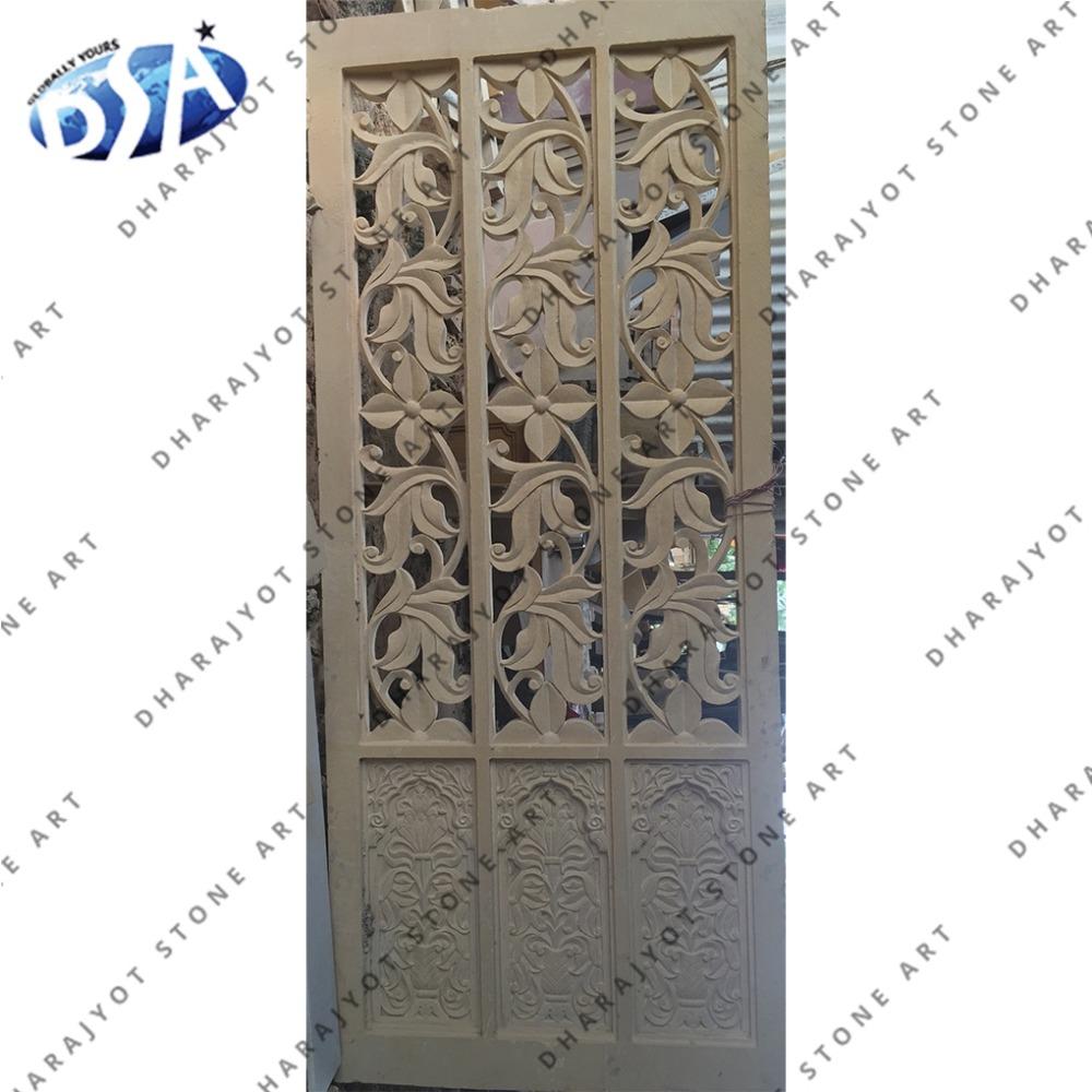 Sandstone Flower Jali Design Buy Flower Designing Jalihome Decor Lattice Jalisandstone Indoor Jali Decor Product On Alibabacom