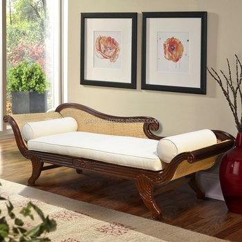 Daybed Sofa RATTAN Classic Teak Wood Furniture