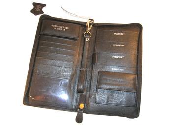 9590fa2c3c67 Men's RFID Blocking Passport Cover PU Leather Wallets Multi functional Credit  Card Ticket Holder Men Wallet