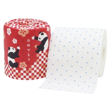 "Japan Toilet Paper ""Congratulations"" 1R 27.5 W Red Wholesale"