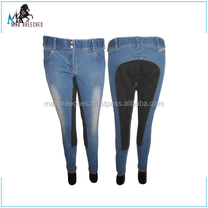 Full Seat Leather Horse Riding Breeches at Wholesale Price