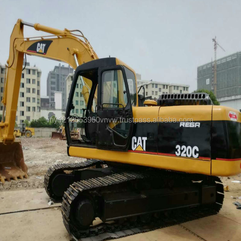 Second hand/Used/old CAT 320c excavator,caterpillar used 320c excavator machines