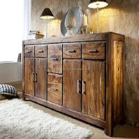 Antique Reclaimed Wood Chest of Drawer
