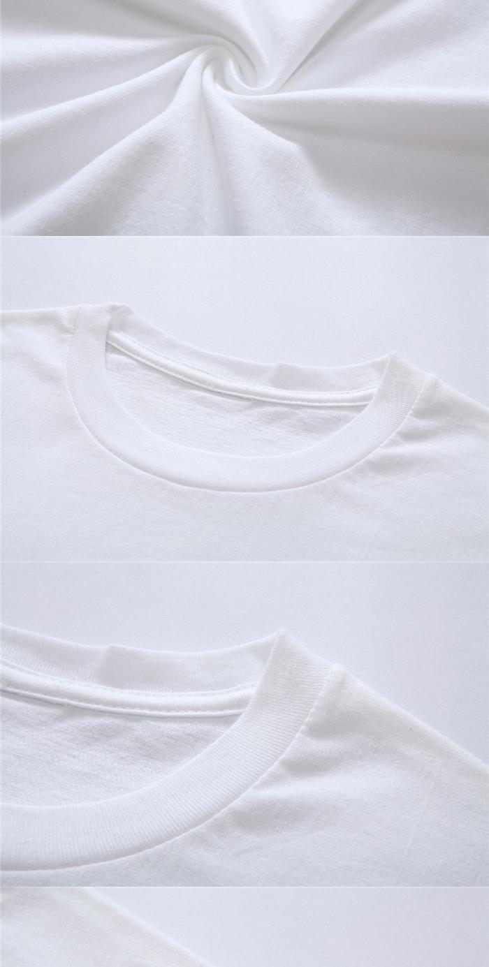 T shirt white brand - Wholesale Ringspun 120grams T Shirt Couple White Brand Tee Shirts Blank Plain Tshirts