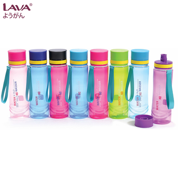 650ml BPA Free Polypropylene (PP) Colorful Customized Design LAVA Plastic Tumbler with Strap