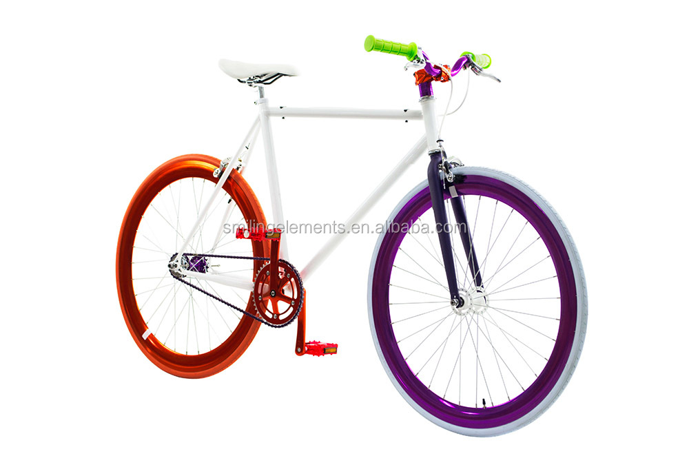 High quality Taiwan OEM/ODM  Flip flop fixie bike Colorful bicycle