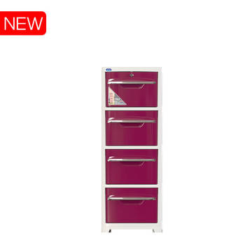 Cabinet 4 drawers No.H051/4 SAKE II - Duy Tan Plastic