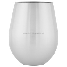 DIOS UNBREAKABLE STAINLESS STEEL GLASS, DISHWASHER SAFE
