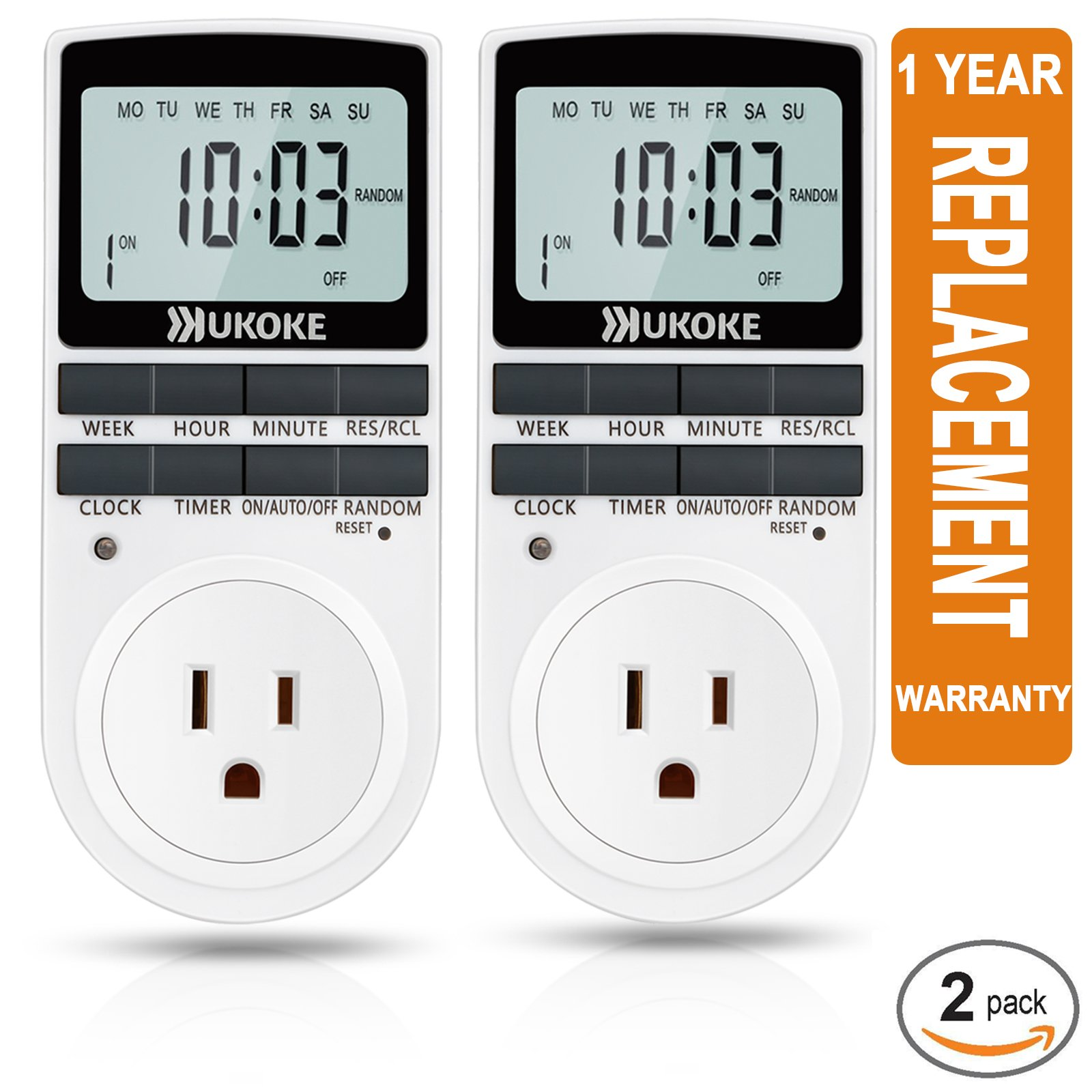 Cheap Timer Electrical Find Deals On Line At Wire Light Switch Off Outlet Get Quotations Ukoke Appliance With 7 Day Weekly Programmable