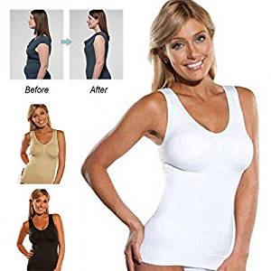 688814c2e Get Quotations · 2017 Comfortable Wireless TVs Cami Tank Top SALE Women  Slimming Tank Top Tummy Control Seamless Vest