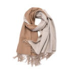 Mongolian winter double side shawl universal model brand women infinity blanket scarf