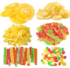 dehydrated dried pineapple core pieces 6-12mm for industrial use