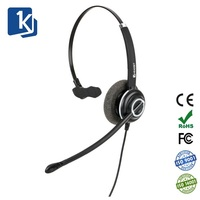Professional Wired USB Headset with Noise Cancelling Microphone