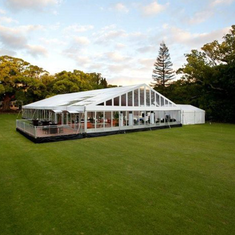 500 Seater Luxury White Wedding <strong>Tent</strong> With Marquee Lining For Sale