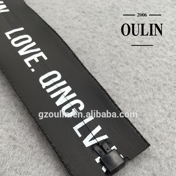 Printed white and black zipper cheap price plastic zipper open type for garments