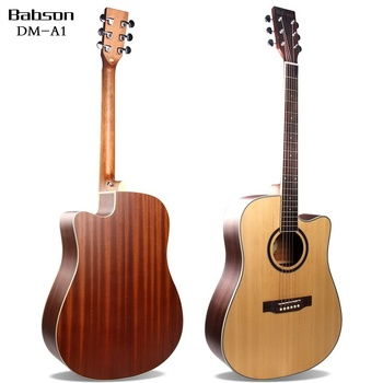 Chinese Solid Acoustic Guitars with pick up for sale
