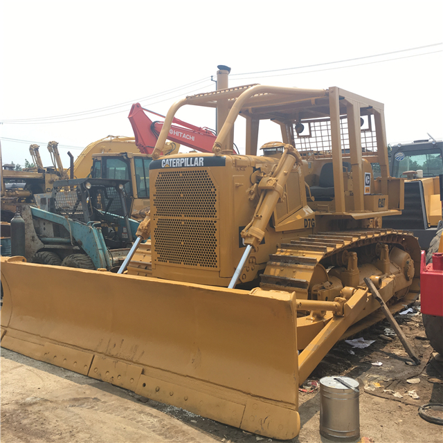 Used Cat Bulldozer D7g With Big Winch For Sale Second Hand Caterpillar  Dozer D7 In Good Condition - Buy Used Cat Bulldozer D7,Second Hand  Caterpillar