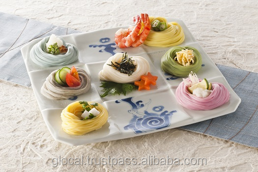 Japanese style, Iro-iro Somen, Various Color Noodles wholesale