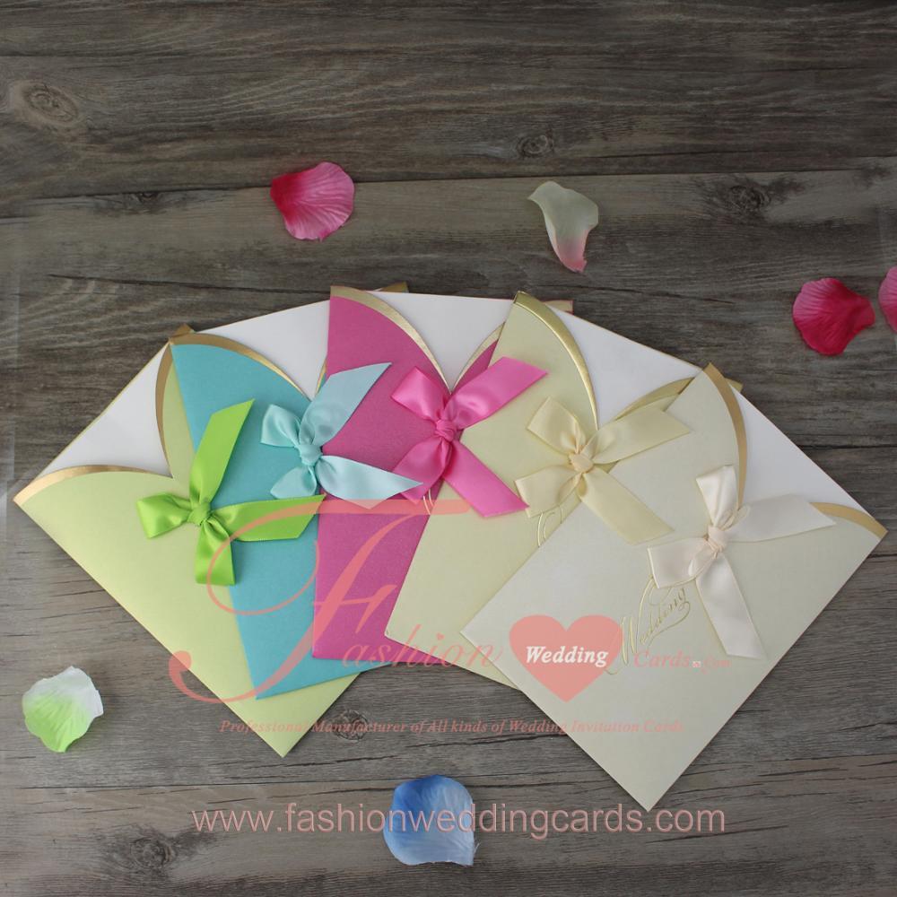 Luxury royal pink butterfly shape scroll wedding invitations card customized wedding jeuxipadfo Images