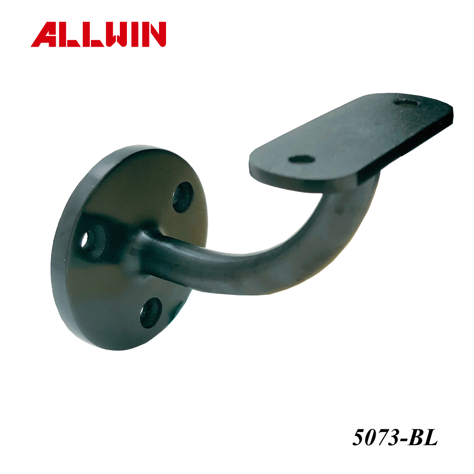 Black Stainless steel Handrail Bracket