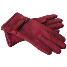 GAF Woman's,MEN Gloves Leather Gloves Hand Warmer, Black Winter Ladies' Dress Gloves