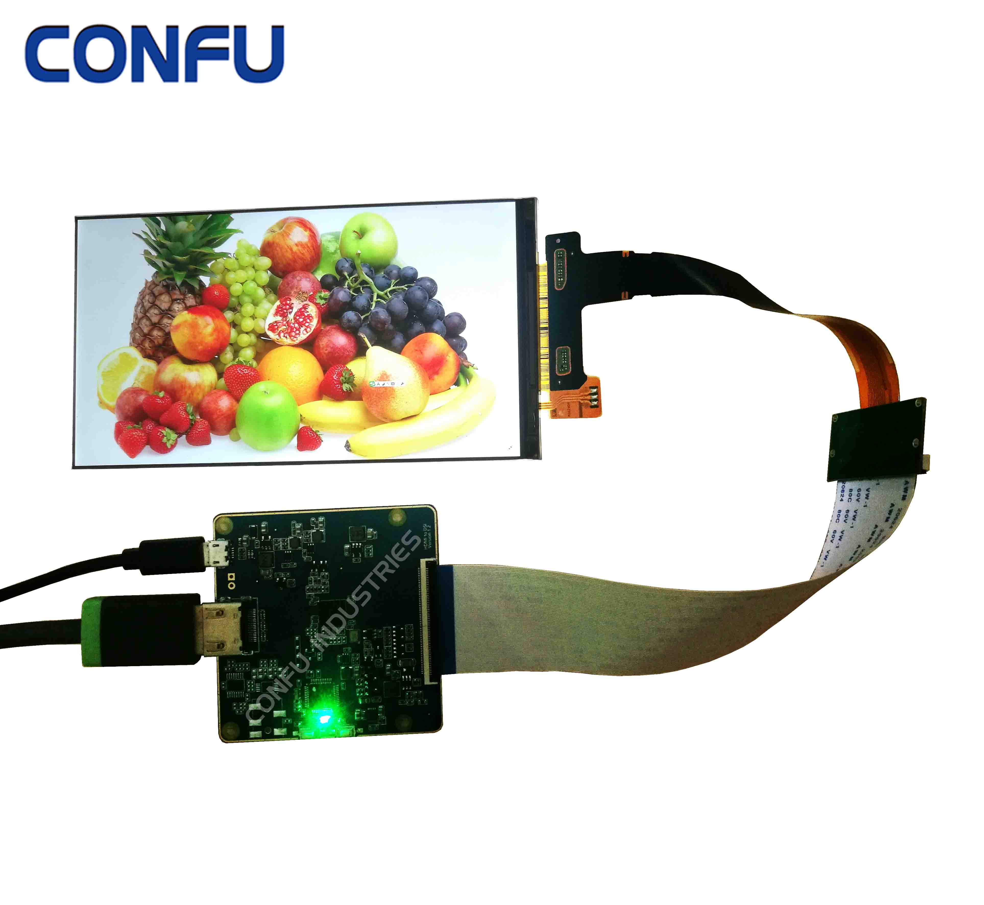 Confu HDMI to MIPI DSI driver board controller LS060R1SX02 6 inch <strong>LCD</strong> 2K 2560x1440 TFT <strong>lcd</strong> display for WanHao 3D printer VR AR