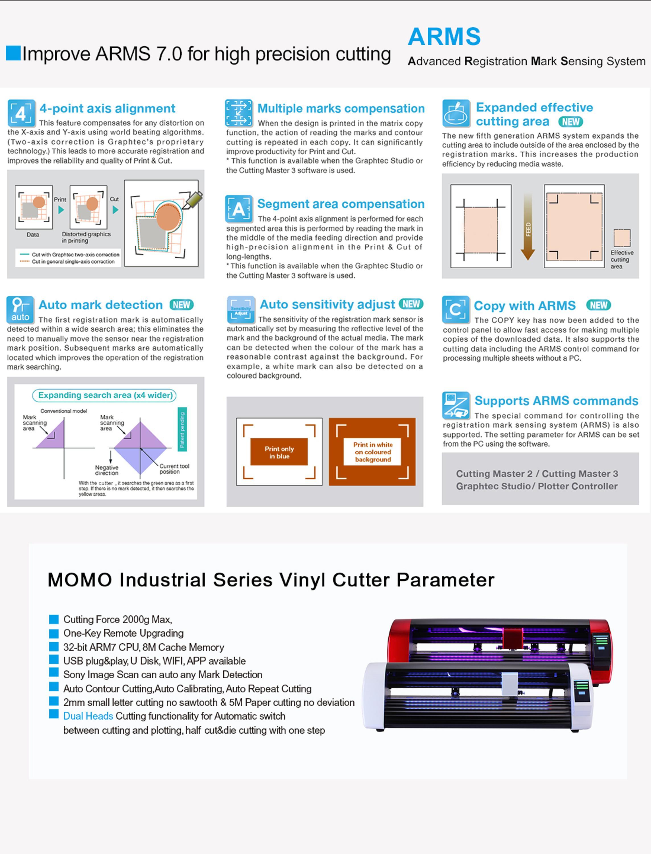China Supplier Camera Positioning 3m Reflective Sticker Cut Vinyl Cutter  Cutting Plotter Machine - Buy Vinyl Cutting Plotter,Roland Cutting