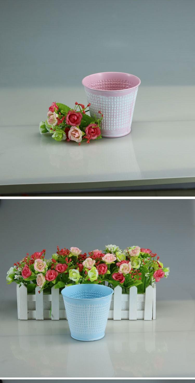 Fleur Boite En Metal Planteur De Zinc Des Pots De Fleurs Planteur De