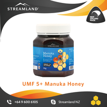 New zealand 100% pure manuka honey Organic natural Manuka UMF5+ honey