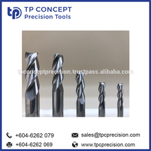 Solid Steel Carbide End Mill precision parts type HSM